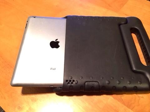 iPadケース:iPad装着