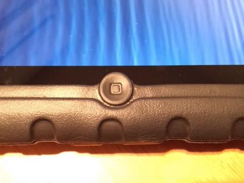 iPadケース:ホームボタン