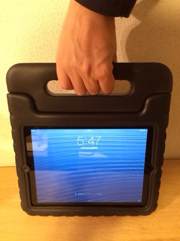 iPadケース:取っ手
