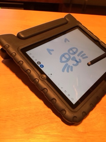 iPadケース:お絵かき