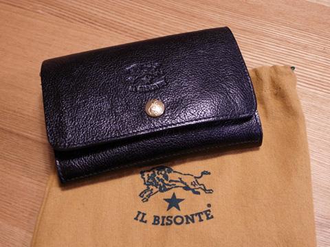 革の質感が最高!イル ビゾンテのお財布を買ったよ♪