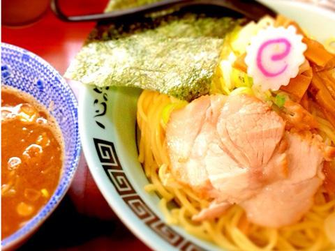 夢現家_新化家_つけ麺