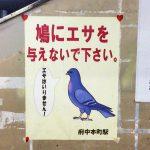 ★ちょっと気になる★武蔵野線はハトも電車を使います!