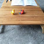 竹の手触りが気持ち良い!子どもに最適なスパイス(SPICE)の バカンスバンブーテーブルを2個買いました!