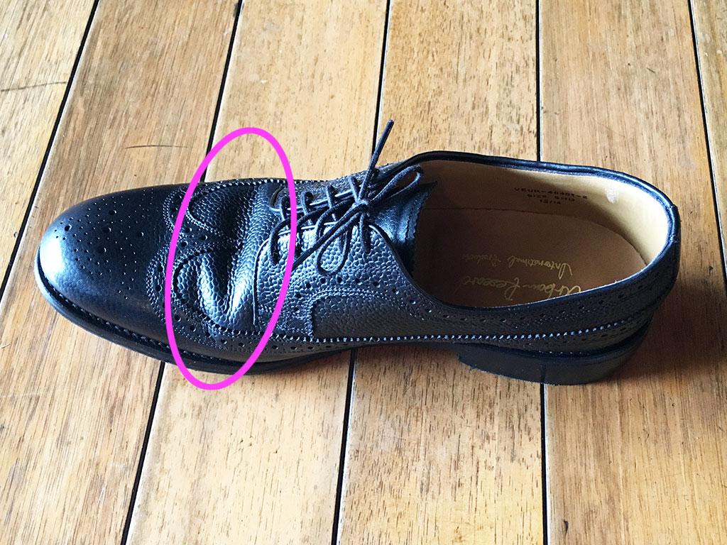靴 型崩れ