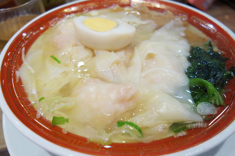 清湯海老雲呑麺