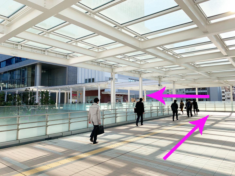 田町駅 スターバックス