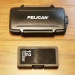 PELICAN SDカードケース 大きさ 比較
